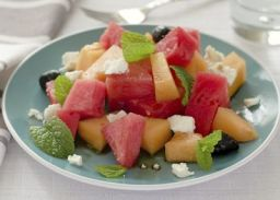 Melon & Feta Cheese Salad