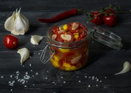 spicy tomato salsa fermented