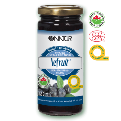 Natur® Le Fruit Organic Spread Blueberry