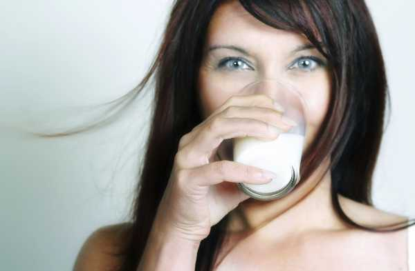 Almond Milk and Woman