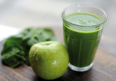 Apple & Spinach Smoothie