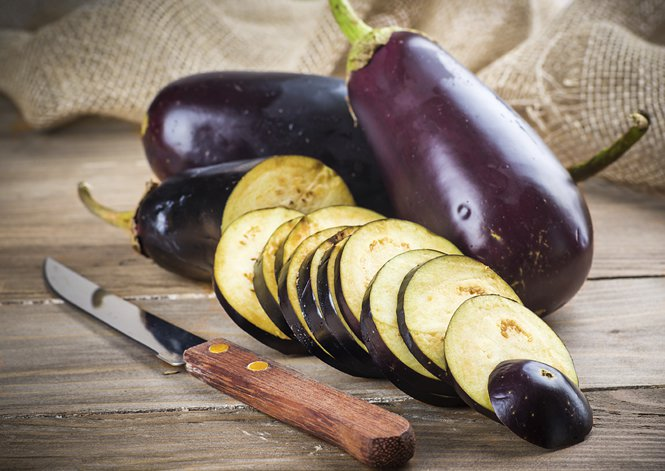 how to cook aubergine cubes