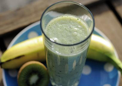 Banana & Kiwi Smoothie