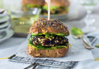 Buckwheat & Parsley Yoghurt Burgers
