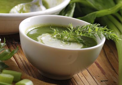 Celery & Potato Soup