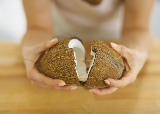 Cracked Coconut