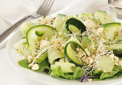 Cucumber & Feta Cheese Salad