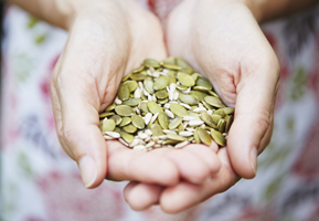 How to get more pumpkin seeds into your diet