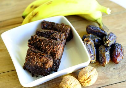healthy Banana Brownies