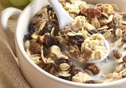 Homemade Muesli with Almond Milk