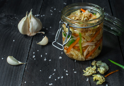 Hot and aromatic kimchi