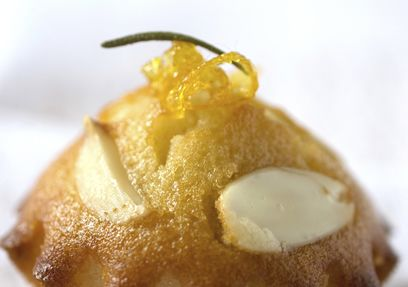 Lemon & Rosemary Cupcakes