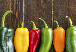 Varieties of Peppers