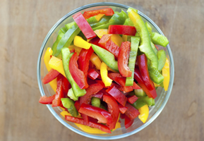 Boiling or Steaming peppers