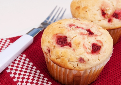 Quinoa, Apple and Strawberry Muffins