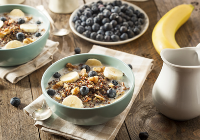 Quinoa Muesli with Fruit & Nuts