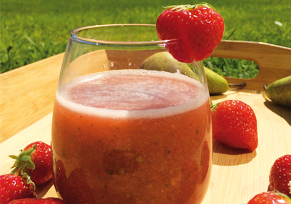 Strawberry & Pear Smoothie