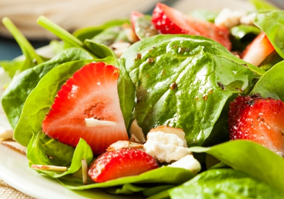 Sunny Strawberry salad