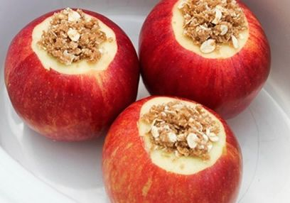 Sweet & Nutty Baked Apple