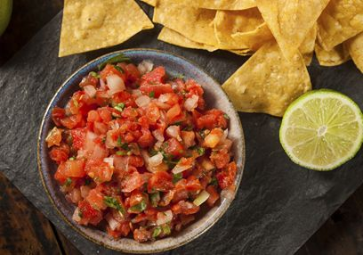Tomato & Pepper Salsa