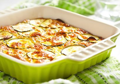 Vegetable & Goat's Cheese Gratin