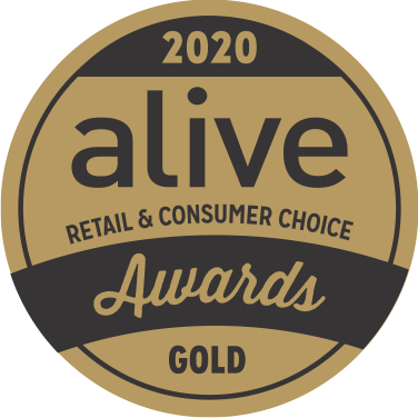 Alive Award Retailers Choice - Gold medal