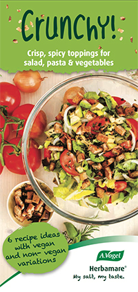 Crisp, spicy toppings for salad, pasta & vegetables
