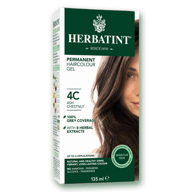 Herbatint C Ash Series Permanent Hair Color No Ammonia