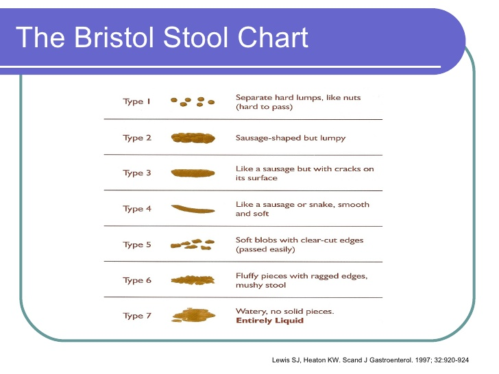 The Bristol Stool Chart